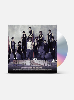 SUPER JUNIOR The 3rd Asia Tour Concert Album - Super Show 3