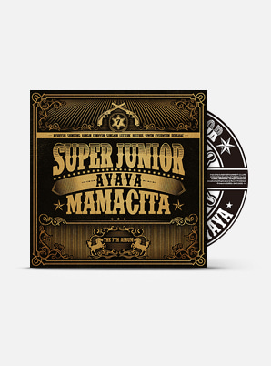 SUPER JUNIOR The 7th Album - MAMACITA (A Ver.)