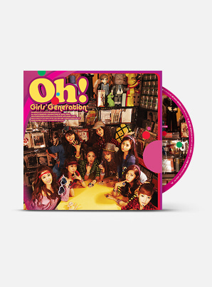 GIRLS' GENERATION The 2nd Album - Oh!