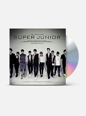 SUPER JUNIOR The 4th Album Repackage - 미인아