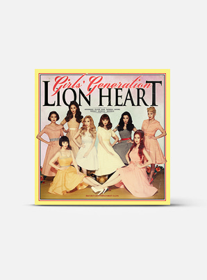 GIRLS' GENERATIONThe 5th Album - Lion Heart (Kihno Kit)
