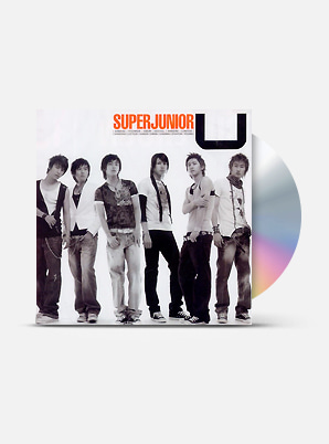 SUPER JUNIOR The 1st Single Album - U