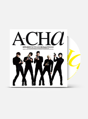 SUPER JUNIOR  The 5th Album Repackage - Mr. Simple (A-CHa)
