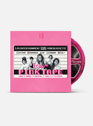 f(x) The 2nd Album - Pink Tape