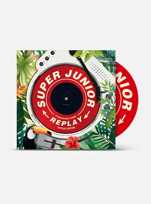 SUPER JUNIOR The 8th Album Repackage - REPLAY (Special Edition)