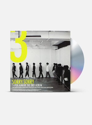 SUPER JUNIOR The 3rd Album - 쏘리 쏘리(SORRY, SORRY) (A Ver.)