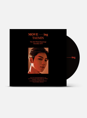 TAEMIN The 2nd Album Repackage - MOVE-ing