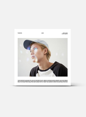 TAEMIN The 1st Mini Album - ACE (Kihno Kit)