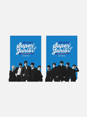 SUPER JUNIOR ALL ABOUT SUPER JUNIOR [TREASURE WITHIN US] DVD