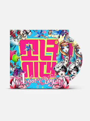 GIRLS' GENERATION The 4th Album - I GOT A BOY