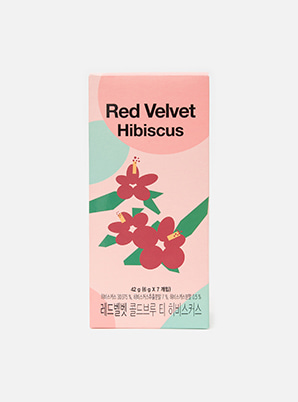 [MUGI BOX &P!CK] Red Velvet COLD BREW TEA HIBISCUS