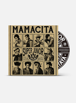 SUPER JUNIOR The 7th Album - MAMACITA (B Ver.)