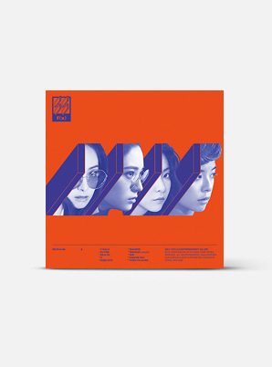 f(x) The 4th Album - 4 Walls (Kihno Kit)