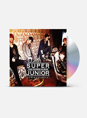 SUPER JUNIOR The 4th Album - 미인아 (A Ver.)