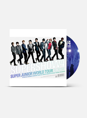 SUPER JUNIOR SUPER JUNIOR WORLD TOUR - SUPER SHOW 4