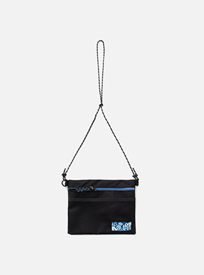 NCT 2018 NCT POPUP SACOCHE BAG - BLACK ON BLACK