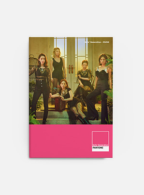 GIRLS' GENERATION-Oh!GGSM ARTIST + PANTONE™ PHOTO NOTE