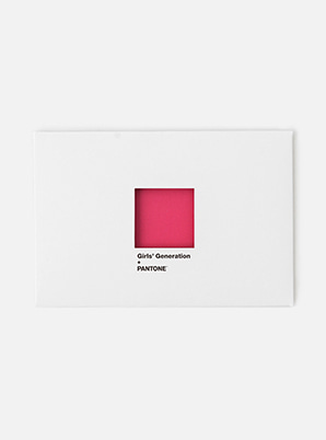 GIRLS' GENERATION2019 SM ARTIST + PANTONE™ POST CARD