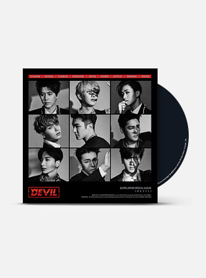 SUPER JUNIOR  Special Album - DEVIL