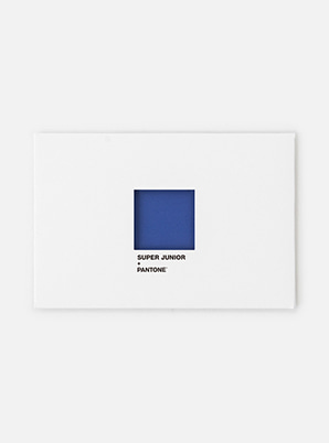 SUPER JUNIOR 2019 SM ARTIST + PANTONE™ POST CARD