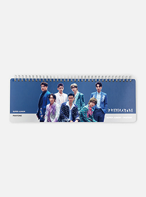 SUPER JUNIOR 2019 SM ARTIST + PANTONE™ PHOTO WEEKLY PLANNER