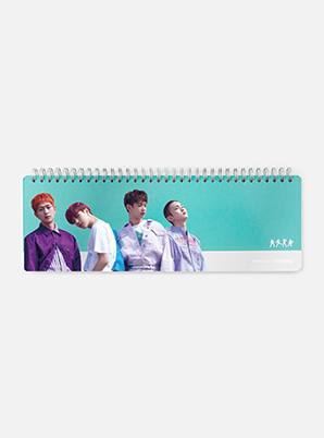 SHINee 2019 SM ARTIST + PANTONE™ PHOTO WEEKLY PLANNER