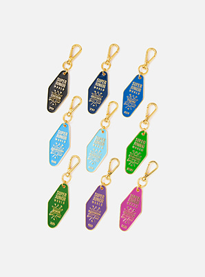 SUPER JUNIOR HOTEL KEY RING