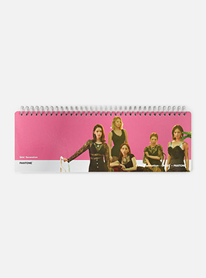 GIRLS' GENERATION-Oh!GG 2019 SM ARTIST + PANTONE™ PHOTO WEEKLY PLANNER