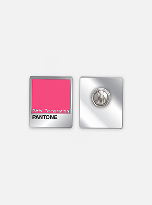 [MD &P!CK] GIRLS' GENERATION  SM ARTIST + PANTONE™ DIY PIN