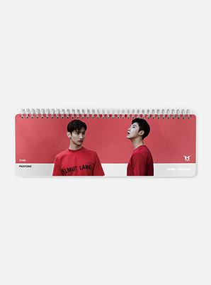 [MD &P!CK] TVXQ!  SM ARTIST + PANTONE™ PHOTO WEEKLY PLANNER