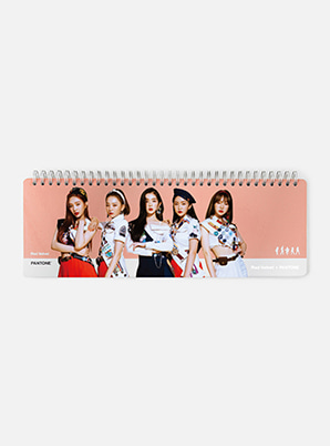 Red Velvet 2019 SM ARTIST + PANTONE™  PHOTO WEEKLY PLANNER