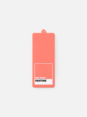 [MD &P!CK] Red Velvet  SM ARTIST + PANTONE™ LUGGAGE NAME TAG