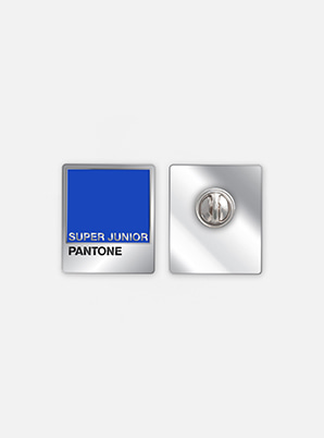 SUPER JUNIOR 2019 SM ARTIST + PANTONE™ DIY PIN