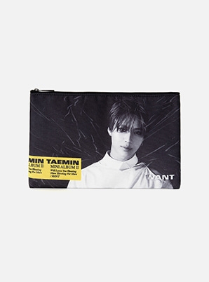 [Online Exclusive] TAEMIN PORTRAIT POUCH - WANT