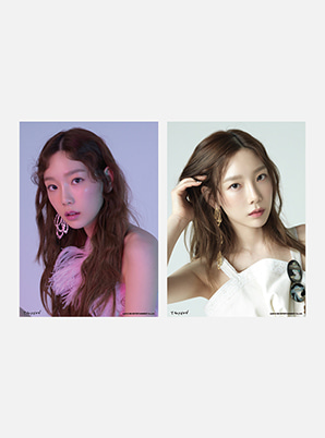 TAEYEON A4 PHOTO - Something New