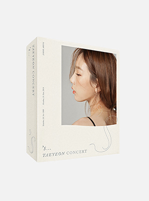 TAEYEON 's…TAEYEON CONCERT Kihno Video with Perfume(Limited)