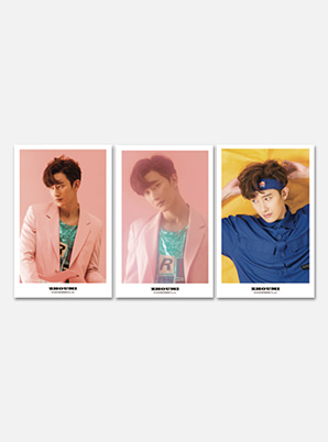 ZHOUMI 4X6 PHOTO SET - Whats Your No. 2