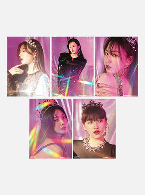 Red Velvet A4 PHOTO - RBB