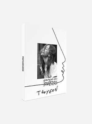 TAEYEONPOSTCARD BOOK - Something New