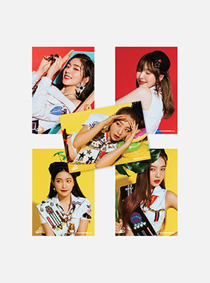 Red Velvet A4 PHOTO - Summer Magic