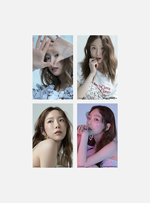 TAEYEON 4X6 PHOTO SET - Something New