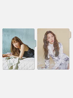 TAEYEON BINDER INDEX - Four Seasons