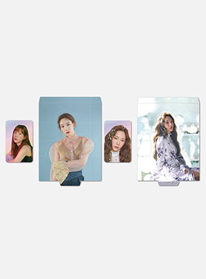 TAEYEONHOLOGRAM PHOTO CARD SET - Four Seasons