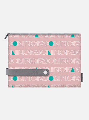 SHINee TYPOGRAPHIC TRAVEL CLUTCH L with ALIFE