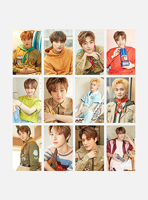 NCT DREAM 4X6 PHOTO SET - SUMMER VACATION KIT