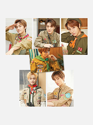 NCT DREAM POSTCARD + POLARIOD SET - SUMMER VACATION KIT