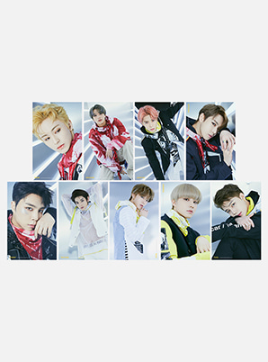 NCT 127 WE ARE SUPER HUMAN 4X6 PHOTO