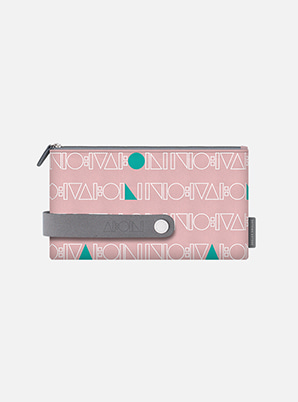 SHINee TYPOGRAPHIC TRAVEL CLUTCH M with ALIFE