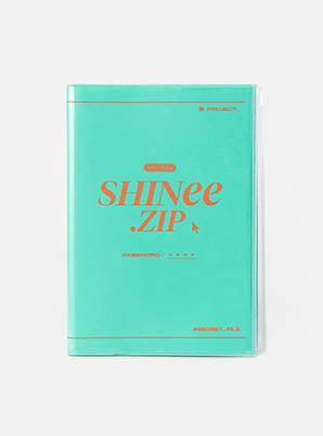 SHINee ZIPPER NOTE