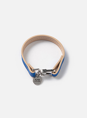 SUPER JUNIOR  COLOR LEATHER BRACELET